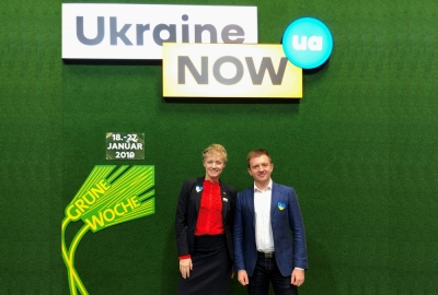 The head of the Association visited the Green Week exhibition in Germany as part of the Ukrainian delegation