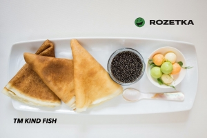 Ukrainian black caviar TM KIND FISH is now at the ROZETKA