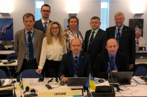 The Ukrainian delegation took part in the Commission for the Conservation of Antarctic Marine Living Resources